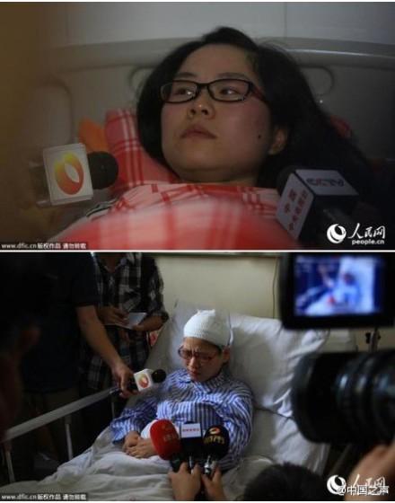 湖南一医院女医生和怀孕护士遭殴打