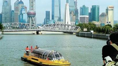 上海未来或可租船自驾畅游苏州河