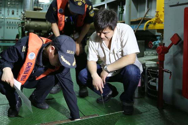海事部门于世界环境日整治船舶排污