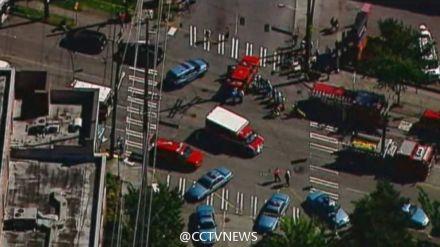 美国西雅图一大学发生枪击案 多人受伤