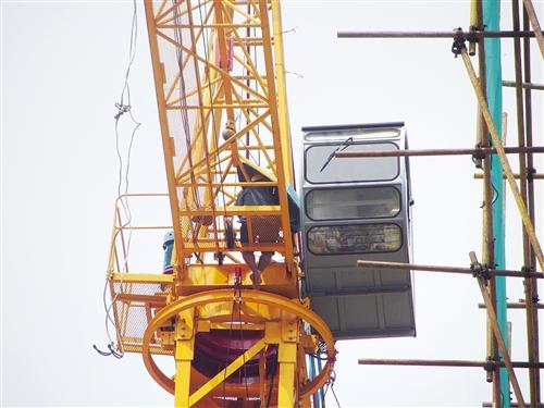 塔吊转盘里面结构图