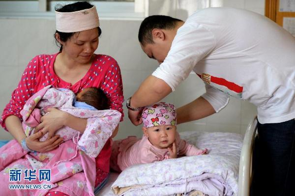 沪单独二孩3个月批准6175例 爸爸最大66岁