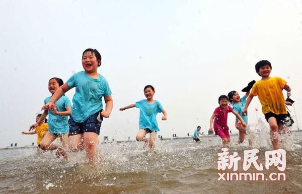 奉贤将建国内首个海上索道滑水项目 预计8月开放