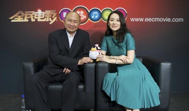 吴宇森力挺章子怡有导演潜质 赞郭敬明小时代卖钱不容易