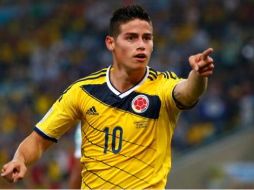 短评哥伦比亚:新一代巨星J罗闪耀巴西!