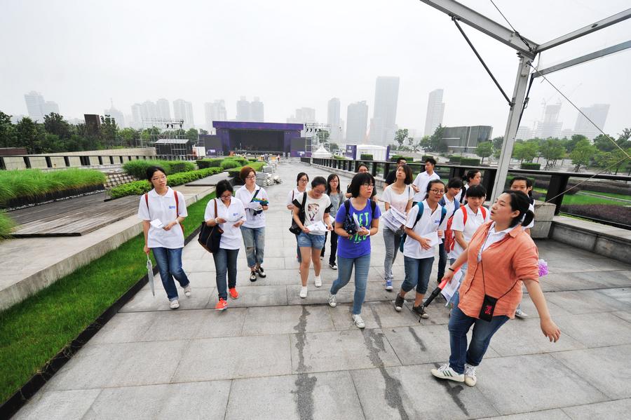 上海夏季音乐节即将开始 志愿者到位