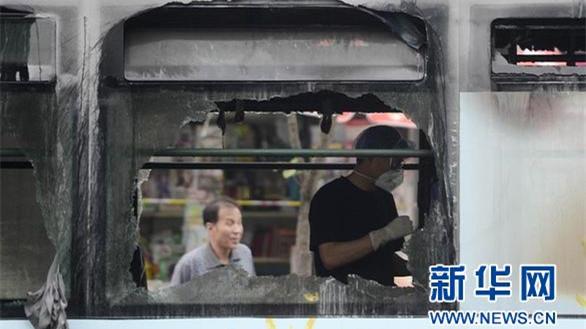 警方:公交纵火嫌犯或为扬名制造恶性事件