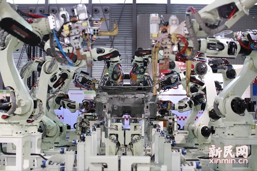 中国国际机器人博览会亮相浦东
