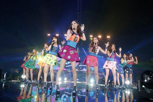 少女时代在日本开唱 共吸引55万粉丝捧场破纪录