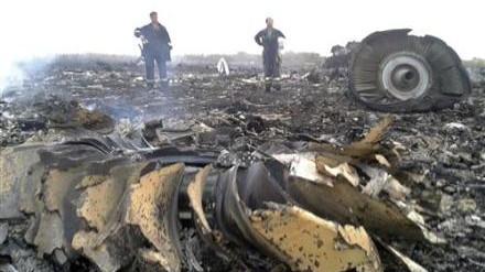 马航一客机在乌克兰东部坠毁 机上298人全部遇难