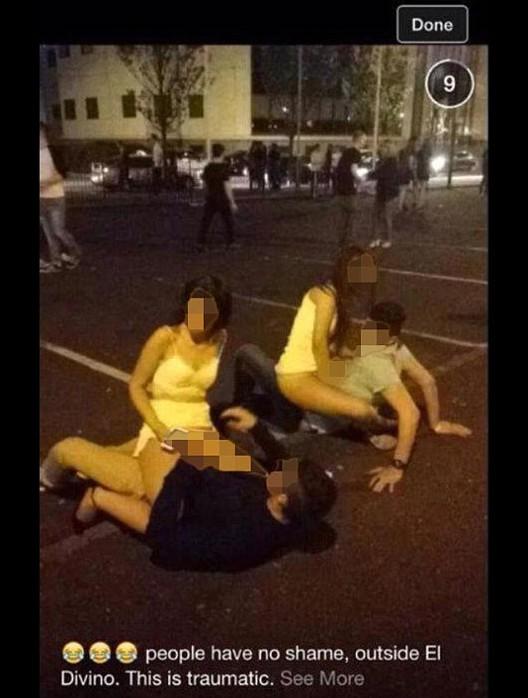 英男女酒吧停车场内不雅视频曝光 行为放荡被