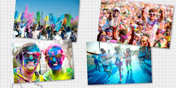 9.27 The Color Run 来袭上海!