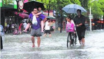 沪防汛条例8月起实施 台风暴雨红警中小学幼托停课