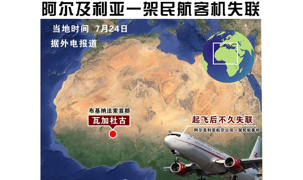 阿尔及利亚总理说阿航客机坠毁可能是天气原因