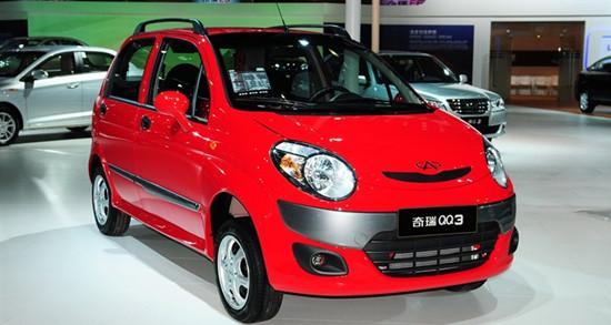 奇瑞QQ3整体车身-奇瑞QQ3 成熟稳定 微车领军车型高清图片