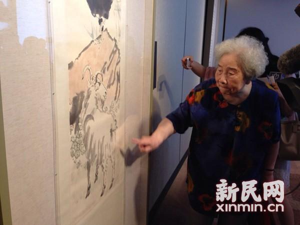 易氏家族向中华艺术宫捐赠徐悲鸿《鸡羊图》