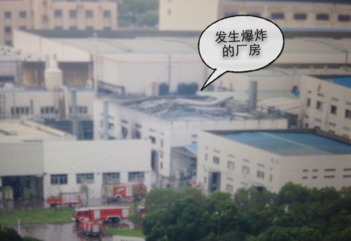 现场直击:目击者回忆厂房屋顶被掀翻