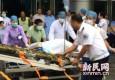 昆山一工厂爆炸已致65死 部分伤员送至上海救治