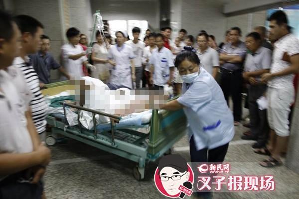 昆山爆炸伤员救治牵动人心 新民网记者两地跟踪报道