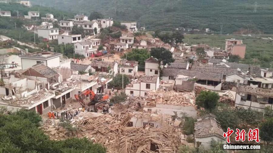 直击云南鲁甸6·5级地震现场
