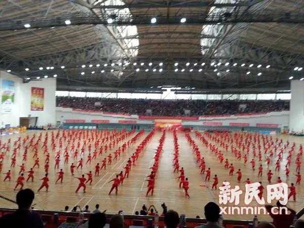 第四届北京国际武术文化交流大会举行