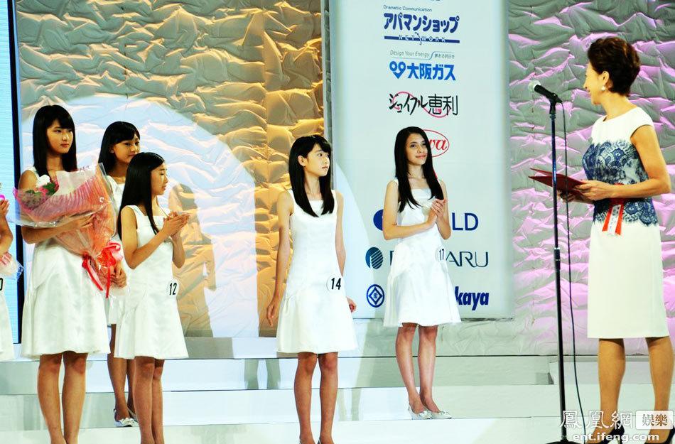 日本国民美少女出炉 12岁初中生夺冠 社会