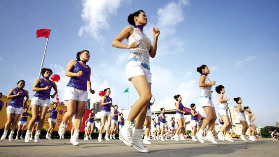 全民健身日:申城公共体育场馆向市民免费开放