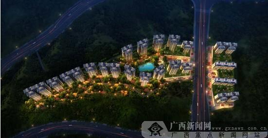 毗邻青秀山风景区,270°远眺邕江江湾.