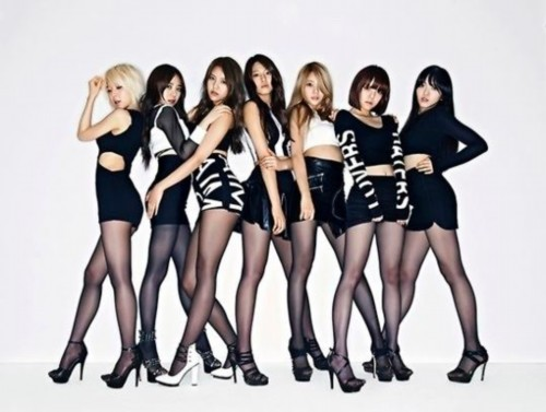 韩国可爱舞蹈服装