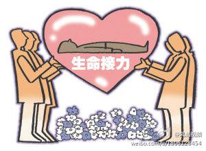 崇明一男子摔倒脑死亡 妻儿老母同意捐献其器官