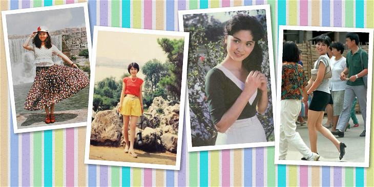 潮爆了!80年代的上海姑娘好时髦