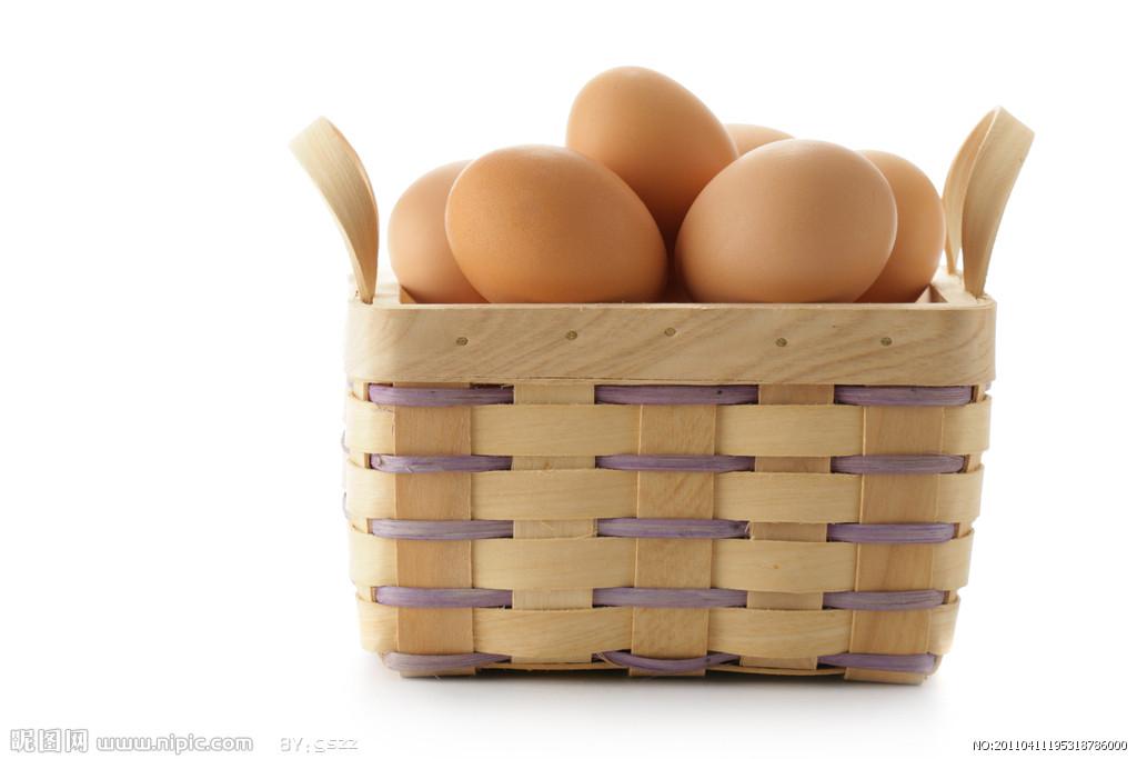 一筐鸡蛋简笔画
