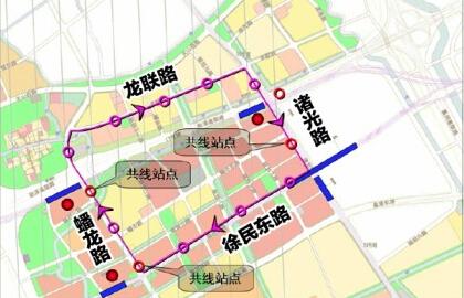 青浦西虹桥地区拟建2条有轨电车线 共设30站