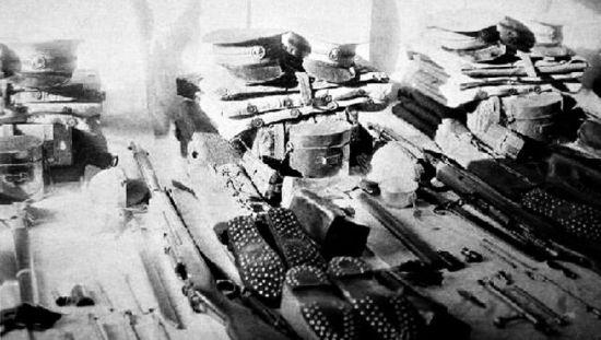 古代军队简笔画黑白