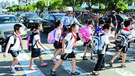 """上海开学第一周今起被确立为""""安全教育周"""""""