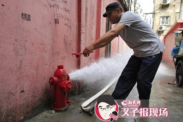 普陀:投资600万 城中村升级数千米消防管网