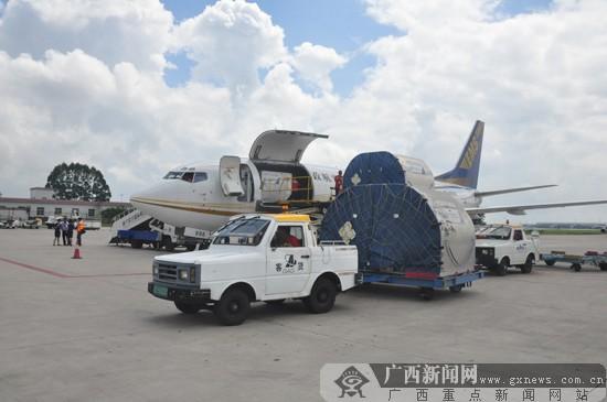 此航线由中国邮政航空公司运营