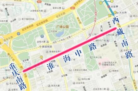 上海旅游节部分道路9月12日-13日临时管制