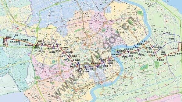 上海地铁14号线拟年底开建 横贯5区设31站