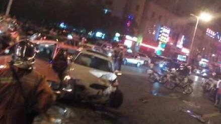松江一宝马车撞死出租车司机 司机涉嫌酒驾