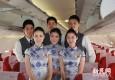 《夜来香》乐声中回到老上海 西部航空首航上海味浓