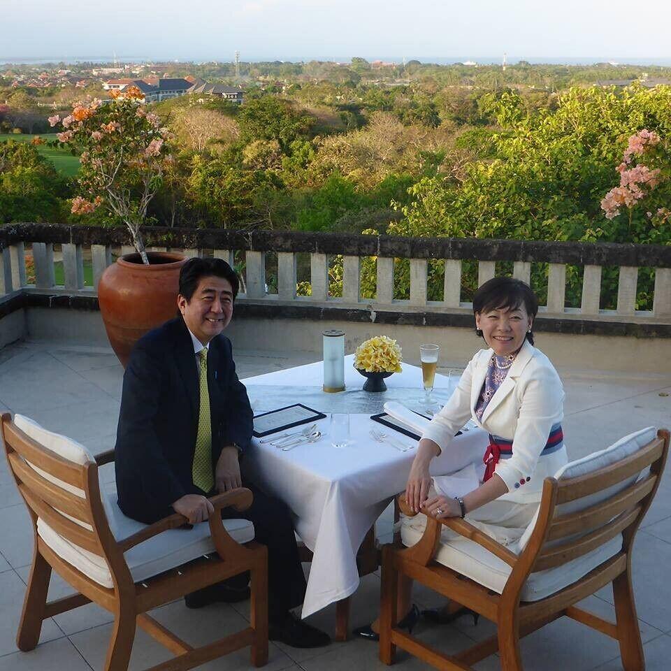 老婆 安倍/日本首相安倍晋三与夫人安倍昭惠