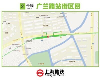 广兰路站本周六起进站实施避堵分流 客流拥挤或缓解