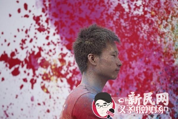 """""""彩色跑""""上海站今日开跑 五彩缤纷快乐盛宴"""