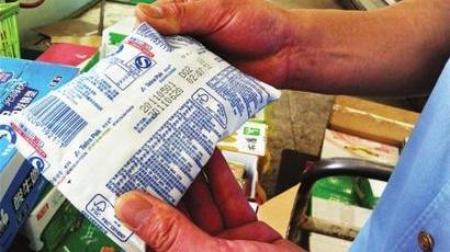 沪食品黑名单: 过期进口纯牛奶变身