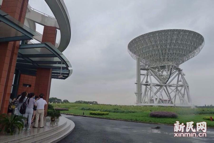 """亚洲第一射电望远镜:""""天马""""逐空 远见未来"""