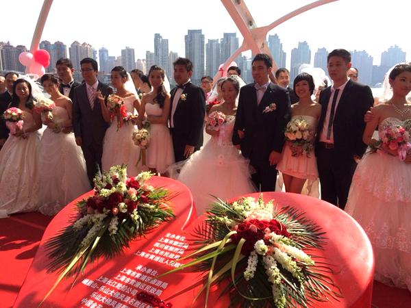 十一黄浦江上的海誓山盟:浪漫婚典来袭