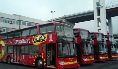 """松江双层观光巴士""""知名度""""不高长假遇冷"""