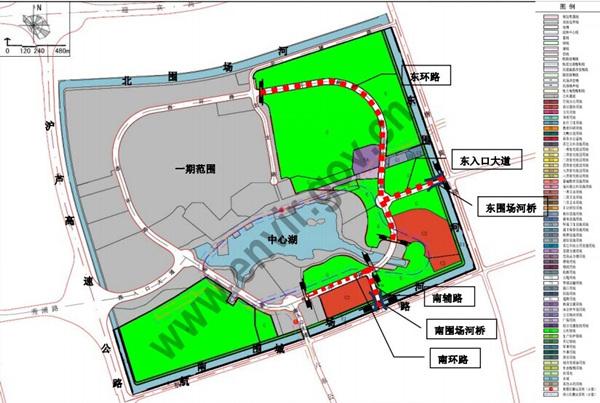 上海迪士尼拟新建4条道路 园区内外十条道路正式定名
