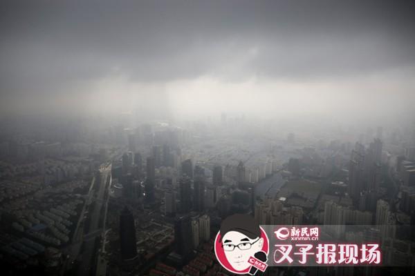 申城大风起不易形成严重持续雾霾 下周二最低仅15℃